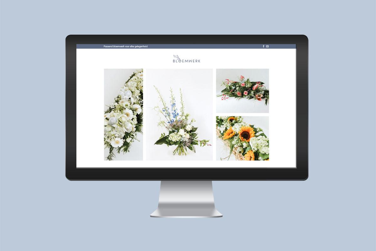 De website van Bloemwerk Ermelo